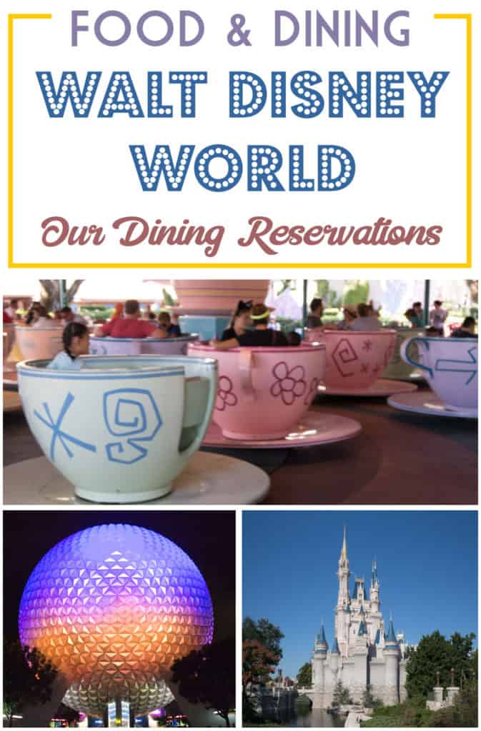 Disney Dining and where we ate at the Disney Parks | Disney Travel