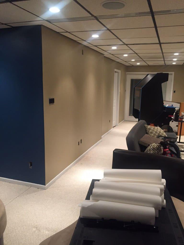basement renovation 2
