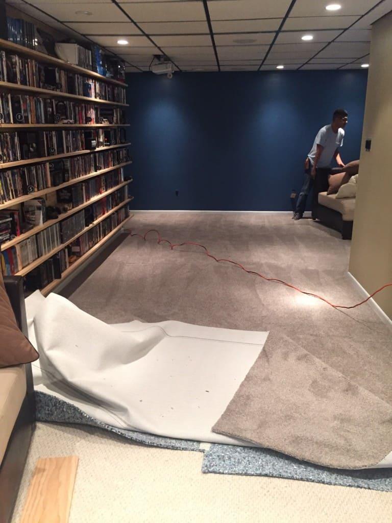 basement renovation 3