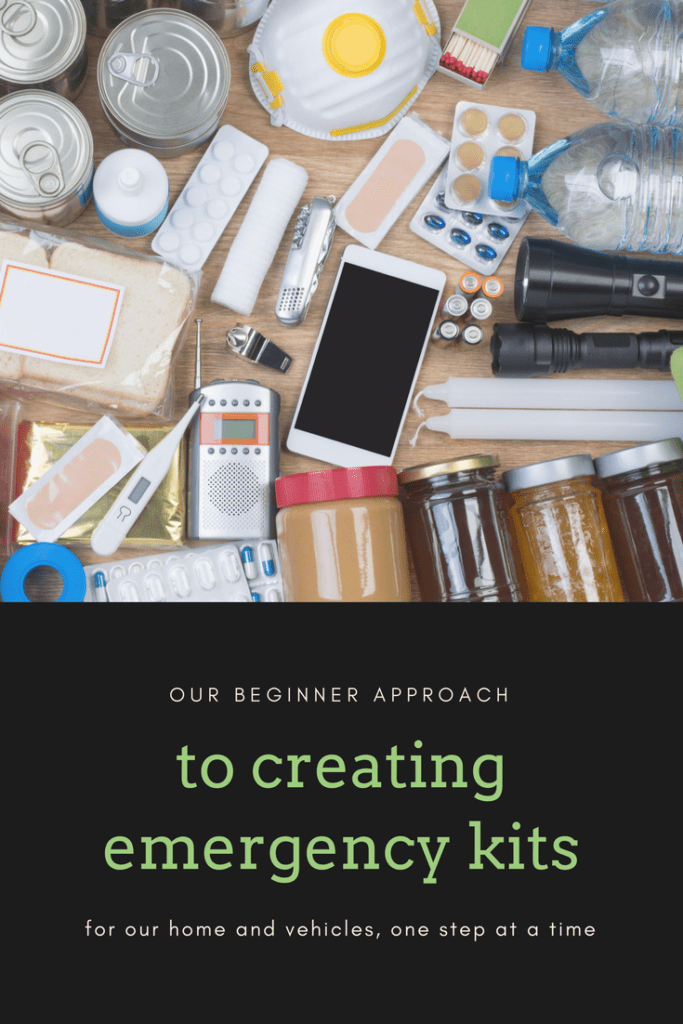Emergency Kits for Car and Home | Beginner approach