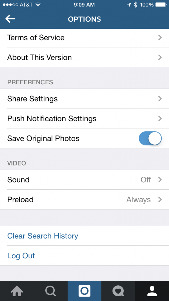 Disable video preload in Instagram to avoid excessive data charges